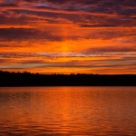 Sun Pillar - Long Lake